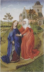 """Visitation"", Rogier van der Weyden, 1399/1400"