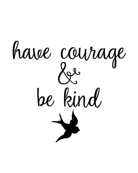 have-courage-be-kind-printable-cinderella-black