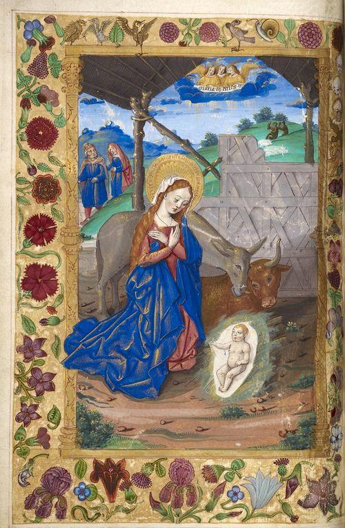 nativity harley 1892 f 8v